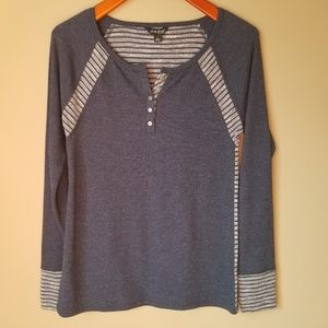 Lucky Brand | Knit Henley Top